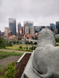 Calgary - visão de Crescent Heights